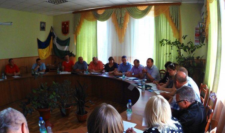 18 вересня 2018 року відбулася позачергова сесія Городнянської міської ради