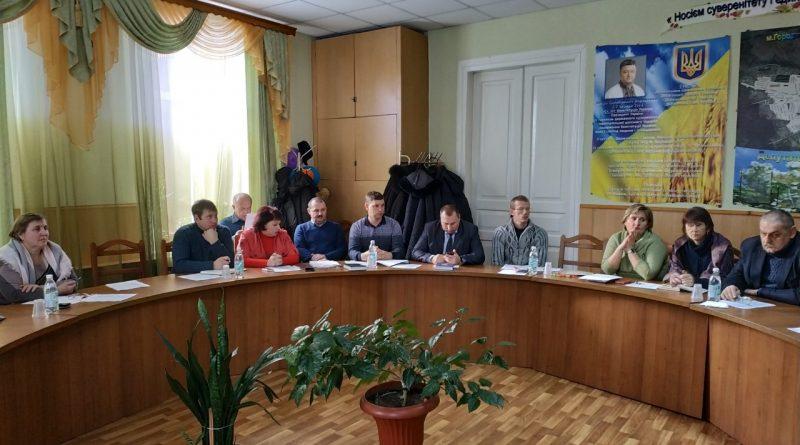 Чергове засідання виконавчого комітету Городнянської міської ради (ОТГ)
