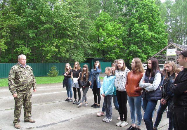 Професіографічна екскурсія учнів Городнянської гімназії