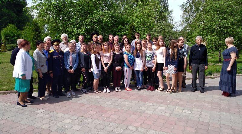 Візит ветеранської організації Городнянського району до Сновська.