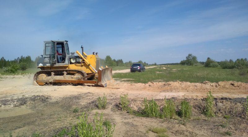 Роботи по грейдеруванню ґрунтових доріг