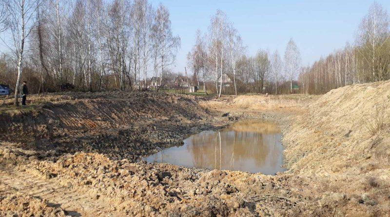 Відновлення пожежного водоймища