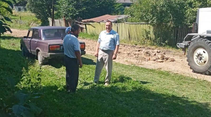 Облаштування доріг у селах громади