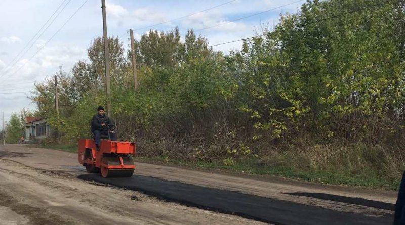 У Солонівці ремонтують дорогу