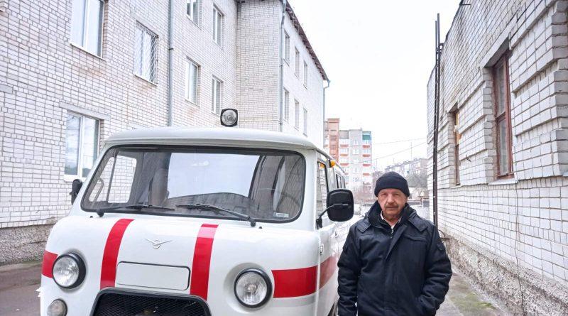 Співпраця з АМУ: міська лікарня отримала авто