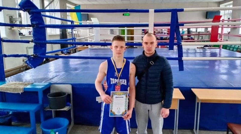 Городнянець Данило Юрченко став призером серед боксерів Чернігівщини на зональному чемпіонаті України