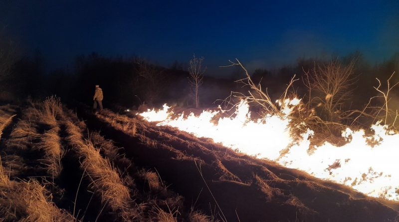 Будьте обережними з вогнем!