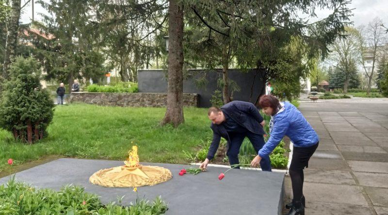Громада вшанувала  пам'ять жертв Другої світової війни