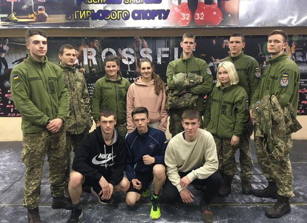 На змаганнях у військовому інституті бронзу здобула випускниця Хоробицького ліцею Єва Кугук