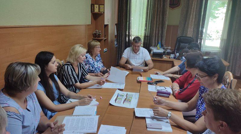 Засідання комісії захисту прав дітей